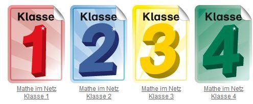 Eine umfangreiche Aufgabensammlung für Mathematik (Klasse 1 – 4)