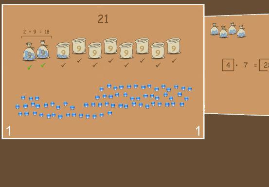 Eine interaktive Seite, um das 1mal1  zu lernen